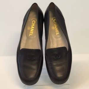 CHANEL - Brown Loafers